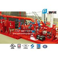 Buy cheap UL / FM Listed Skid Mounted Fire Pump Package 289 Feet For Transportation Tunnels from wholesalers