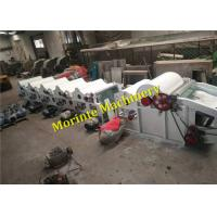 Buy cheap Morinte knitted fabric waste recycling machine 8 rollers Chinese factory from wholesalers