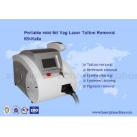 Buy cheap Q-switched ND Yag Laser Tattoo Removal Machine Portable For Skin Pigment from wholesalers
