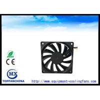 80 × 80 × 15mm Computer Case CPU Cooling Fan / Radiator DC Fan In Medical Equipment Manufactures