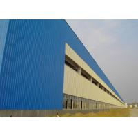 Buy cheap Heavy Steel Structure Workshop Construction With Alkyd Primer Surface Treatment from wholesalers