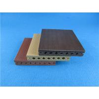 Wholesale Round Hollow WPC Composite Decking Strong WPC Flooring for Exterior from china suppliers