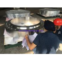 Buy cheap Stainless Steel Flanges ASME SA-182 Gr.F321H, BUG SIZE, FVC Forging,RTJ HB (Nut Stop),For Chemical Industry application from wholesalers