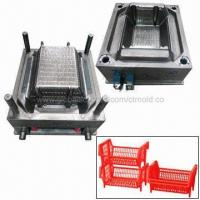 Buy cheap Plastic Vegetable Crate Mold, Hot Runner System, Automatic Work, Customized Designs are Accepted from wholesalers