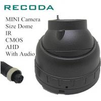 Buy cheap 1.0/1.3/2.0 MP In Car Police Camera Dome IR CMOS AHD Vehicle Type With Audio from wholesalers