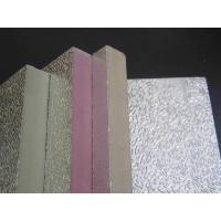 Buy cheap Embossing Aluminum Foil Phenolic Sandwich Duct Panel from wholesalers
