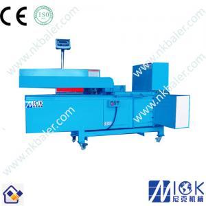 China Rice husk bagging machine by nick baler company on sale