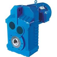 Buy cheap F shrink disk gear reducer industrial shaft mounted parallel helical gearbox gear box speed reducers from wholesalers