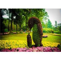 Buy cheap Creatively Artificial Green Plants , Living Plant Sculptures For Theme Park from wholesalers