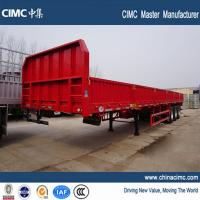 Buy cheap 3 axles flatbed Cargo & container semitrailer from wholesalers