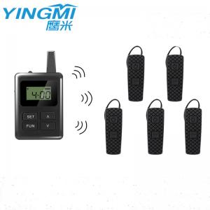 Wholesale Ear Hanging E8 Simultaneous Interpretation Device Black Color from china suppliers