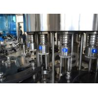 Buy cheap 200 ml - 2000 ml Automatic Liquid Filler Machine , Water Bottle Filling Machine And Equipment from wholesalers