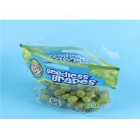 Buy cheap Clear Fruit Saver Bags , Customized Food Packaging Bags For Strawberry / Grape from wholesalers