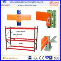 Buy cheap Q235B Steel Pallet Racking with Blue & Orange Color for Warehouse Storage Racks from wholesalers