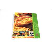 Buy cheap Perfect Bound Saddle Stitched Binding , Cook Books With Glossy / Matt Lamination from wholesalers