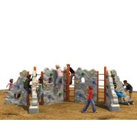 Buy cheap Outdoor Kids Climbing Wall Color Optional With Anti Theft Screws from wholesalers