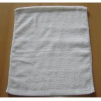 Buy cheap WT-215 90g White Terylene Cotton Two single Towel  from wholesalers