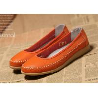 Buy cheap Ladies Flats Soft Comfortable Casual Shoes Flat Shoes Women Natural Leather product