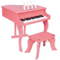 Wholesale 30 Key Pink Grand Toy wooden piano Kid toy mini piano W30 from china suppliers