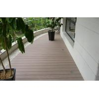 Buy cheap Natural WPC Decking Flooring Anti-Slip For Balcony & Decoration from wholesalers