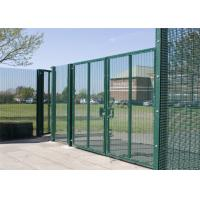 China Anti Climb 358 Security Fencing 358 Welded Mesh Fence Easily Assembled on sale