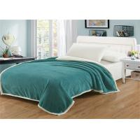 Buy cheap Stain Resistant Heavy Fleece Blanket , All Age Group Coral Cotton Blanket from wholesalers