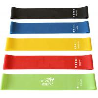 Buy cheap High End Rubber Elastic Resistance Loop Bands For Sports And Fitness Customized Logo from wholesalers
