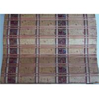 Buy cheap High Grade Printed Bamboo Blinds , Bamboo Door Curtains Corrosion Resistant from wholesalers