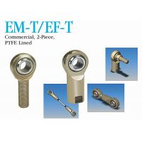 Buy cheap EM-T / EF-T Stainless Steel Heim Joint Rod Ends 2 - Piece PTFE Lined For Industrial from wholesalers