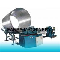 Buy cheap CNC Computer Spiral Duct Forming Machine With Flying Slitting / Pipe Counting System from wholesalers