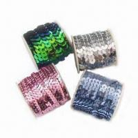 Buy cheap Spangles, Used for High-grade Fashionable Garments, Available in Size of 3, 5 and 7mm from wholesalers