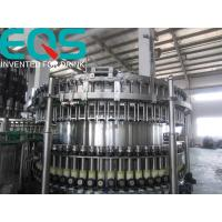 Buy cheap SUS304 Material Beer Bottling Machine Line , Beer And Beer Bottle Filler Machine from wholesalers