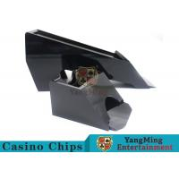 Buy cheap Black Color Gambling Dedicated Casino Card Shoe , One Deck Shoe For Poker Cards from wholesalers