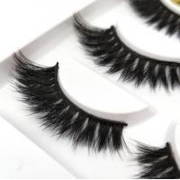 Buy cheap Natrual designs soft and fluffy own brand fake eyelashes 3d mink eye lashes private label magnetic from wholesalers