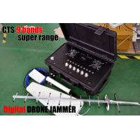 Wholesale Digital Directional Drone Jammer For 310-470Mhz 800MHZ 900mHZ Gps & Glonass from china suppliers
