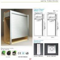 Buy cheap Kitchen Cabinet Roller Shutter Door Remote Control/Automatic Roll up Garage Door/Rapid Roller from wholesalers