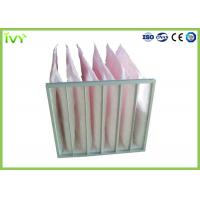 Buy cheap Secondary Efficiency Bag Replacement Air Filter 100% Max Relative Humidity from wholesalers