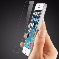 Scratch Resistant Smudge Free Screen Protector , Iphone 5s Glass Screen Protector Film