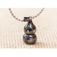 Wholesale Lucky Cucurbit Buddhist Symbol Necklace Gourd Pendant Chinese Styles from china suppliers