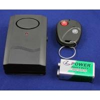 Wholesale Anti-Theft Security Vibration Alarm with Remote Control Keychain for Door Window from china suppliers