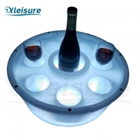 Buy cheap spa hot tub float LED bar movable LED glass holder for spa pool hot tub swim spa from wholesalers