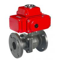 Buy cheap Electrical actuated gate valve 230v 24v 12v 110v electric actuator valve ware treatment heating oil refining from wholesalers