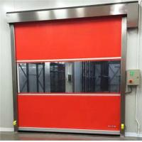 Buy cheap Manual Remote Control High Speed Roller Shutter Doors Wind Resistance from wholesalers