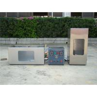 Buy cheap Microcomputer Plastic Testing Machine , Combustion Flammability Test Equipment from wholesalers