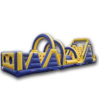 Buy cheap Rent Inflatable tunnel, Fun Inflatables Obstacle Course Games for Adults and Children from wholesalers