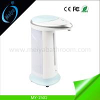 Buy cheap 400ml hand free liquid soap dispenser with stand from wholesalers