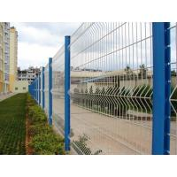 China Powder Coating Triangular Bending Welded Mesh Fence / Garden Fence Wire Mesh on sale