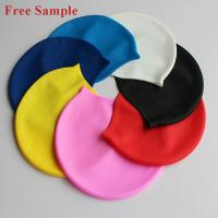 Buy cheap Customize Cartoon SwimCap, Printing Logo Brand Silicone Swimming Cap from China from wholesalers
