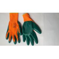 Nitrile Coated Safety Work Glove,Nitrile latex Coated/nylon gloves/bleached cotton gloves
