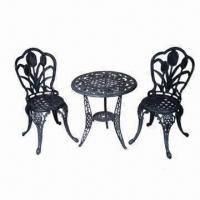 Buy cheap Cast Aluminum Dining Set, Customized Drawings and Samples are Welcome from wholesalers